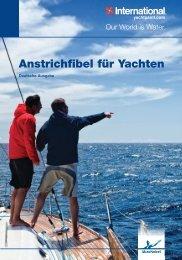 Anstrichfibel für Yachten - BUKH Bremen