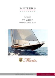 3064 FACTSHEET MARIE Jan 2011 - Vitters Shipyard