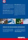 Beschichtungsstoffe für den industriellen ... - Hempel World - Seite 2