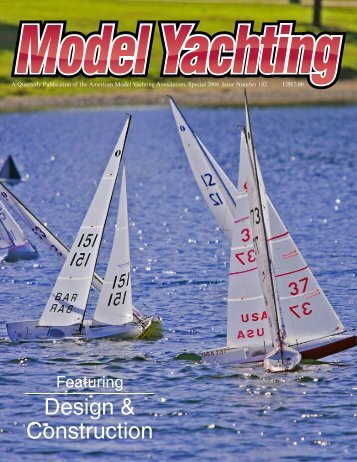 Design & Construction - American Model Yachting Association