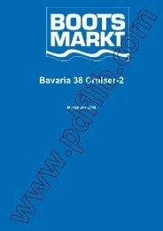 Bavaria 38 Cruiser-2 - Bootsmarkt