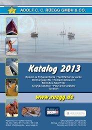 zum neuen Rüegg Katalog 2013 - Adolf CC Rüegg