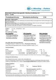 Produktbezeichnung : Rhumbeline-Antifouling D 90 - Waage