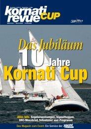 Kornati-Cup-Revue erste Ausgabe - Yachtrevue