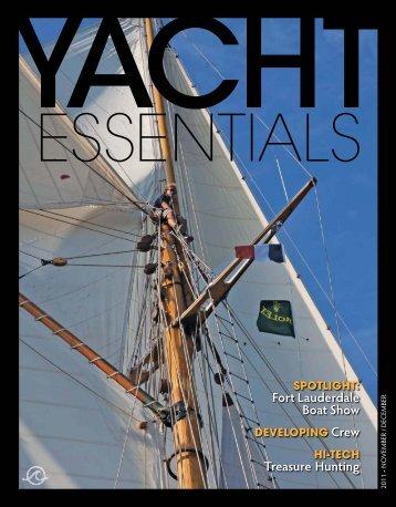 November / December 2011 - Yacht Essentials