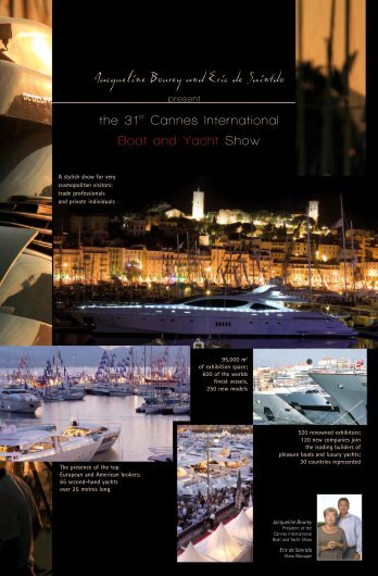 the 31st Cannes International Boat and Yacht Show - Studio Loecsen