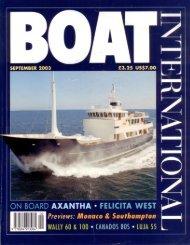 My Trust Boat International 2003 - Diana Yacht Design