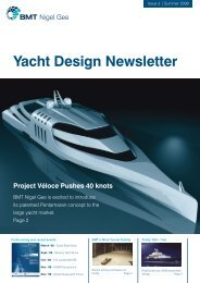 Yacht Design Newsletter 3 - BMT Group