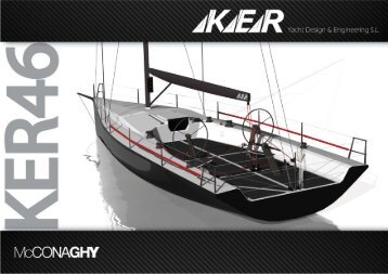 penned by leading IRC designers Ker Yacht Design