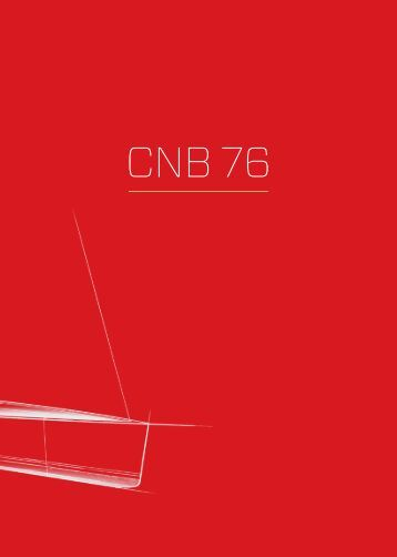 Download the CNB 76 brochure - CNB Yachts