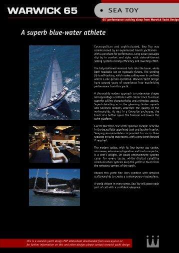 WARWICK 65 - Warwick Yacht Design