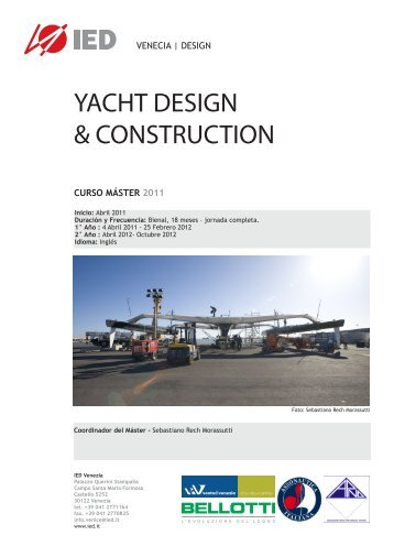 YACHT DESIGN & CONSTRUCTION
