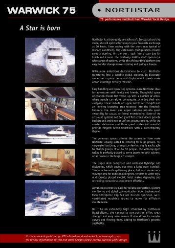 WARWICK 75 - Warwick Yacht Design