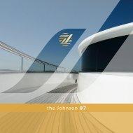 the Johnson 87 - Johnson Motor Yachts