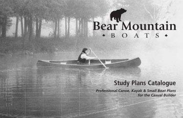 Study Plans Catalogue - Bear Mountain Boats