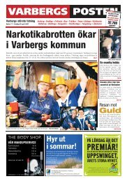 Lagfarter Halmstad 12/5 | Hallandsposten - Bostad