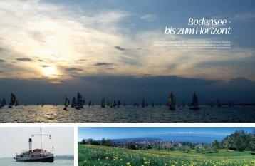 Bodensee - bis zum Horizont - marina.ch