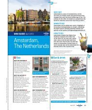 MINI GuIdE Amsterdam The Netherlands - Lonely Planet