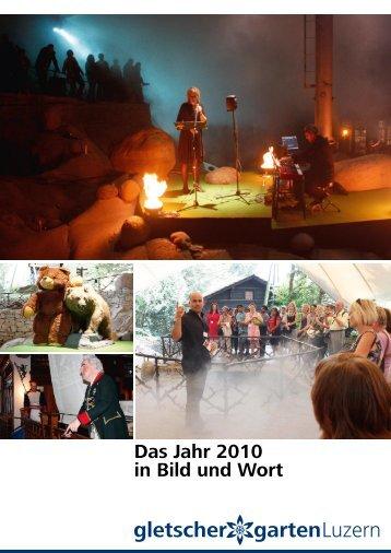 Sonderausstellungen 2010 - Gletschergarten Luzern