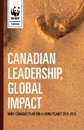 WWF-Canada's Plan For a living Planet 2010-2015