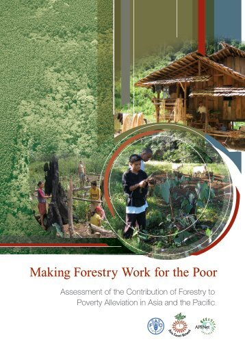 Contribution of Forestry to Poverty Alleviation - APFNet