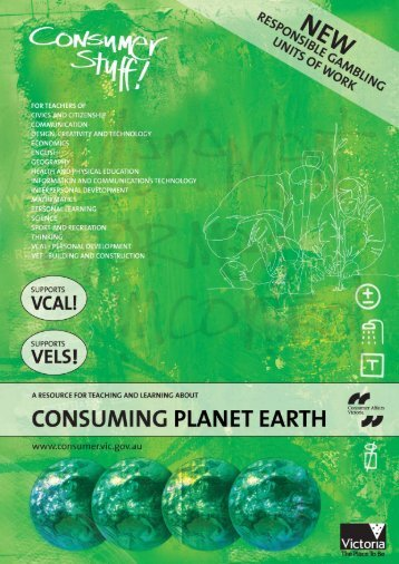 A resource for teaching and learning about consuming planet earth