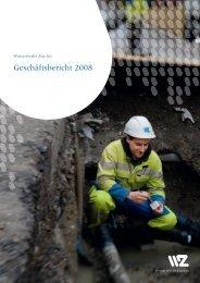 Geschäftsbericht 2008 - Wasserwerke Zug AG