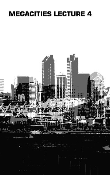 Possible Urban Worlds - MEGACITIES Foundation