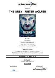 the grey – unter wölfen - Walt Disney Studios Motion Pictures Germany