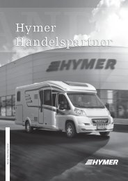Unsere Hymer-Handelspartner in Italien
