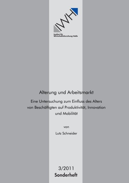 kostenfreier Download als PDF - Institut für Wirtschaftsforschung Halle