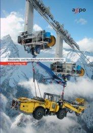 Geschäftsbericht 2009/10, Deutsch - Axpo