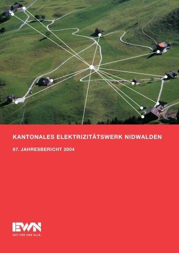 KANTONALES ELEKTRIZITÄTSWERK NIDWALDEN - EWN