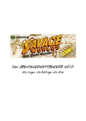 One-Sheet Wonder 2010 - Savage Heroes