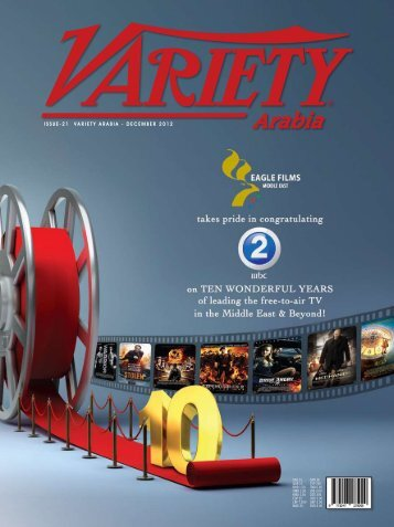 ISSUE-21 VARIETY ARABIA - DECEMBER 2012
