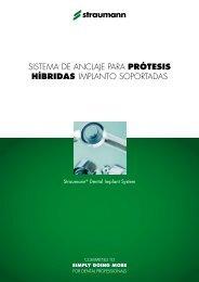 SiStema de anclaje para prótesis híbridas implanto ... - Straumann