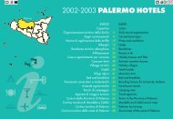 2002-2003 PALERMO HOTELS - Iside Web