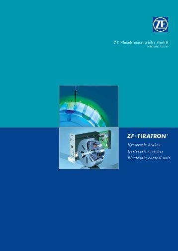 Tiratron-Prospekt engl NEU (Page 2) - ZF Friedrichshafen AG