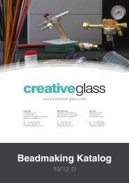 Beadmaking Katalog (Glasperlen) - Creative Glass