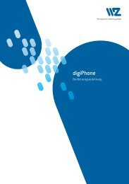 digiPhone - Wasserwerke Zug AG