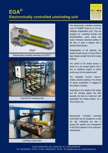 _EGA Flyer engl - Texmer GmbH