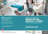 Wohnen für alle – Barrierefrei in Wien