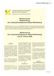 Download (PDF - 407 KByte) - ZBW - Zahnärzteblatt Baden ...