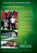Produktbroschüre - August Huemer Forstmaschinen - Seite 2