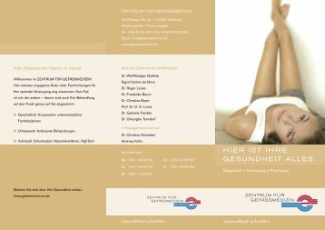 Allgemeine Praxisinformation - Zentrum für Gefässmedizin