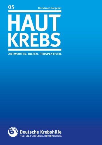 Blauer Ratgeber - Deutsche Krebshilfe eV