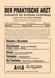 Juni 2007 · 928a - arzt & praxis