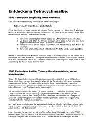 Tetracyclinsalbe gesammelte Info