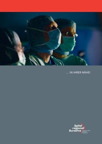 Imagebroschüre - Spital regiunal Surselva