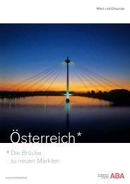 Brücke zwischen Ost und West - ABA - Invest in Austria